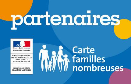 partenaire carte famille nombreuse Offres famille nombreuse   INFO PRESSE