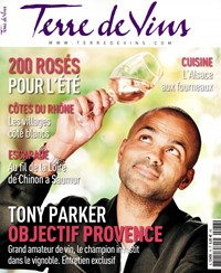 Terre de Vins - Abonnement 12 mois. Terre de Vins est le magazine de tous les vins de France mais aussi du monde.Elu en 2012 Meilleur magazine du vin