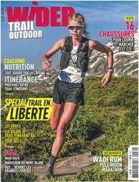 Wider - Abonnement 12 mois. WIDER, le nouveau magazine 100% outdoor !