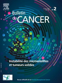 Bulletin du Cancer