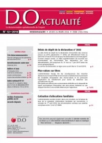 Revue D.O Actualité