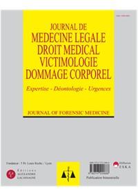Journal de Médecine Légale Droit médical