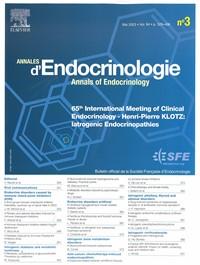 Annales d'Endocrinologie