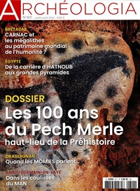 Abonement ARCHEOLOGIA - Revue - journal - ARCHEOLOGIA magazine