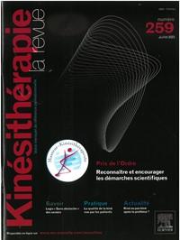 Kinésithérapie la revue