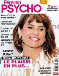 Abonnement FEMININ PSYCHO - Revue, magazine, journal FEMININ PSYCHO - Féminin Psycho prend soin de votre équilibre et de votre vie quotidienne. 1 an - 6 n° - La vie et l'équilibre au fémin - Prix si achat au numéro : 27 € - Réduction : 19% !