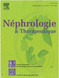 Nephrologie et Thérapeutique