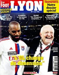 Le Foot Lyon magazine - Abonnement 12 mois. Le Foot Lyon, le magazine passion des supporters du club de Lyon.
