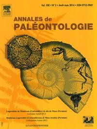 Annales de Paléontologie