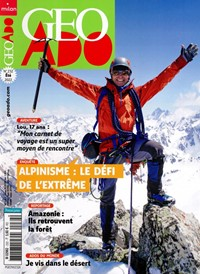 Abonement GEO ADO - Revue - journal - GEO ADO magazine
