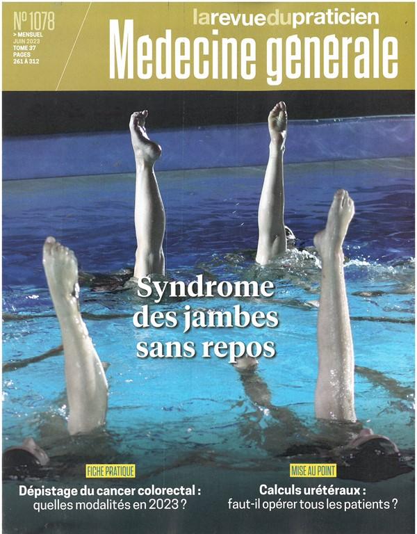 Revue du praticien médecine générale