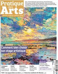 Pratique des Arts - Abonnement 12 mois. Pratique des Arts, le magazine de toutes les pratiques artistiques !