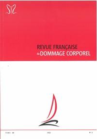 Revue Française du dommage corporel