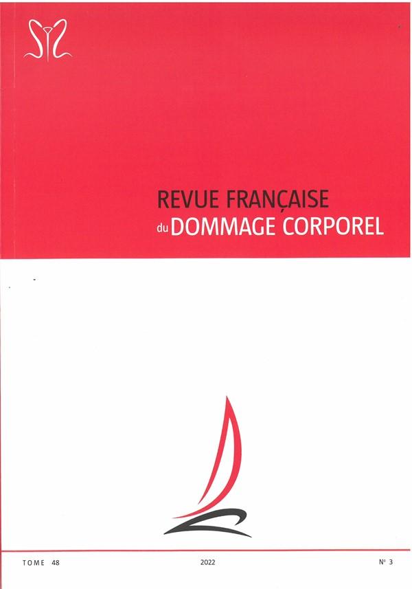 REVUE FRANCAISE DU DOMMAGE CORPOREL
